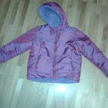 Куртка зимняя двухсторонная