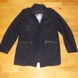 Стильный Немецкий Кашемировый Пиджак-Пальто р-р L. 48-50 Германия