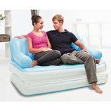 Раскладной диван 75038 NEW 188Х152Х64 См 220V. Надувной Диван-Трансформер 5 В 1