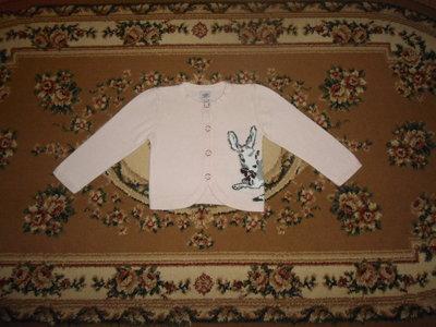 Красивий свитер з оленям на 9-12 міс Baker baby