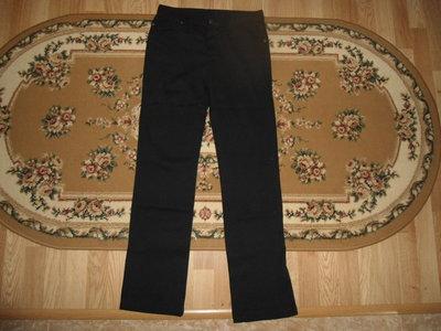 Чорние коттоновие штани S