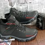 Мужские зимние кроссовки, Кожаная Обувь, высокое качество изготовления,Акция до 15,09