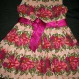 Нарядное платье F&F 4-5л