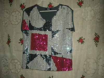 Супер блуза asos р.10,полиэстер,индия