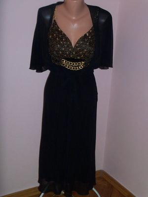 Нарядное вечернее платье с болеро р. 44-46