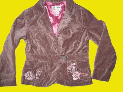 Нарядный бархатный пиджак,рост 116 см,Next
