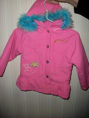 куртка детская весенне-осенняя 2-4года