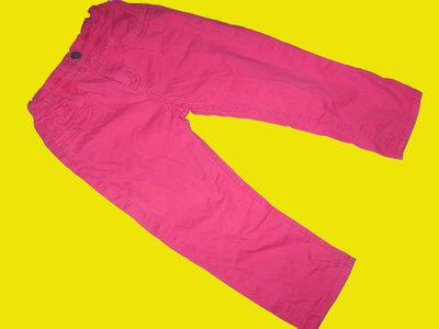 Яркие джинсы-бриджи ,рост 116 см,DENIM CO