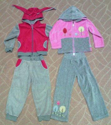 спортивные костюмы велюровые 3-4года