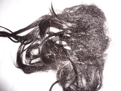 Волосы на клипсах темный шатен