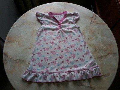 Ночная рубашка для девочки возраст 2-3 года