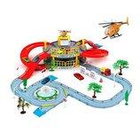 Игровая парковка 922-9. 2 уровня, машинка, вертолет