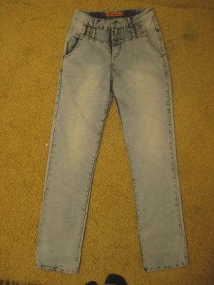 Класні високі літні джинси, 29 разм.