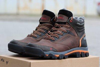Продано: Ботинки кроссовки зимние Merrell