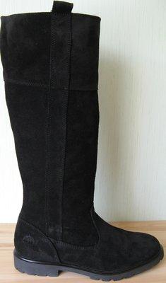 Timberland Женские Зимние Стильные Замшевые Высокие сапоги ботинки на меху красиво модно удобно