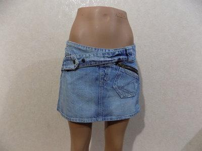 Юбка джинсовая фирменная голубая размер 42-44