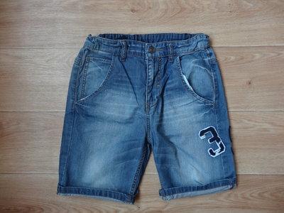 Джинсовые шорты на мальчика 10-11 лет Benetton