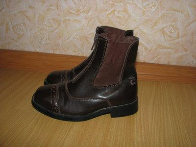 Tuffrider сапоги ботинки кожзам 29 р по вст 18.5 см