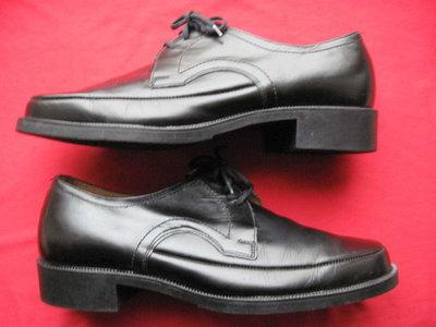 Growela 43, 27,5 см кожаные туфли дерби мужские