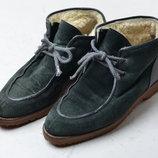 Замшевые ботинки на цегейке vivalei р.36
