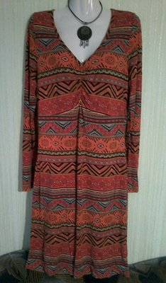 Платье бренд Bonprix, в этническом стиле. Размер 48
