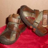 ботинки, бренд Bana, 21 размер, стелька 13,5 см, натуральная кожа, Италия