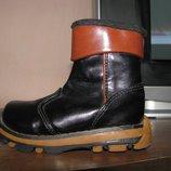 Утепленные демисезонные ботинки Campy, стелька 13,5 см.