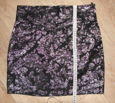 праздничная юбка 42 р. с серебряной нитью