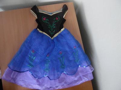 Платье карнавал 5-6 лет рост 110-116 см George Джорж Дисней Анна Эльза принцесса оригинал