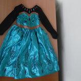 Платье 5-6 л Анна Эльза Платье карнавал лет Disney Дисней оригинал принцесса