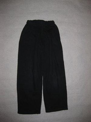 9-10 лет, спортивные штаны на баечке, чёрные