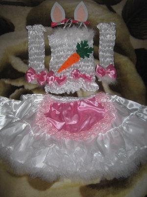 Продам детский костюм Зайки для девочки.