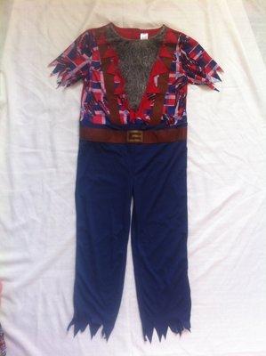 карнавальный костюм разбойник оборотень пират 9-10 лет