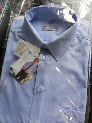 Качественная мужская рубашка 100% хлопок. Германия, 40