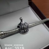 Пандора серебряная Шарм Корона