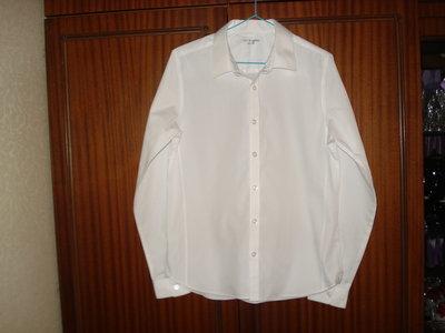 Рубашка школьная белая