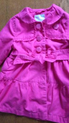 Плащ Next розовый 12-18 месяцев
