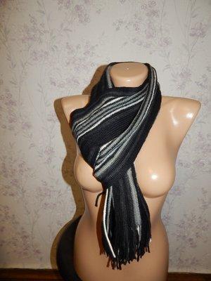 Актуальный мужской шарф.