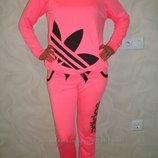костюм розовый с-м