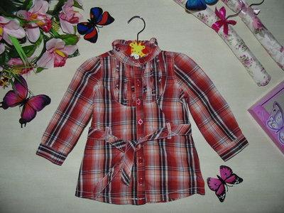 Рубашка-Туника Topolino 12мес 74-80см Мега выбор обуви и одежды