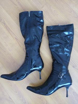 Новые кожаные демисезонные сапоги, размер 42 / 43