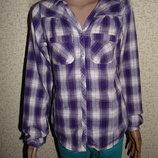 Рубашка H&M 14лет 164см Мега выбор обуви и одежды