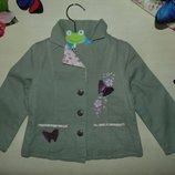 Гламурный пиджак 12-18мес 74-86см Мега выбор обуви и одежды