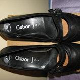 Туфлі нові брендові шкіряні дихаючі Gabor Оригінал Словакія р.40 стелька 26 см