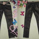 Гламурные джинсы C&A 12л 152см Мега выбор обуви и одежды