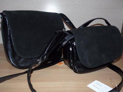 Сумочка через плече сумка натуральній замш сумка Камелия клатч замш