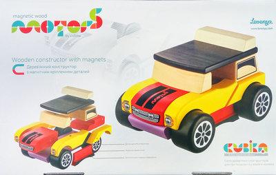 Продано: Машинка мини кабриолет конструктор магнитный Cubika 12060 LM-3