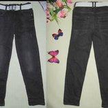 Модные джинсы Nutmeg 9-10л 134-140см Мега выбор обуви и одежды
