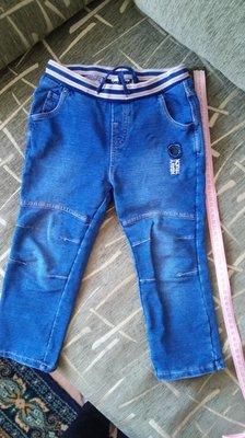 Брюки Чикко джинсовые на мальчика.