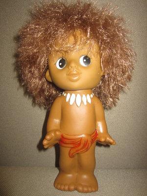 Кукла негр негритёнок Маугли 22см Ссср